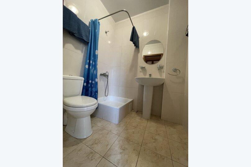 1-комнатный 4-местный улучшенный с балконом, Прибрежная, 45, Николаевка, Крым - Фотография 10