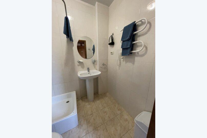 1-комнатный 4-местный улучшенный с балконом, Прибрежная, 45, Николаевка, Крым - Фотография 11
