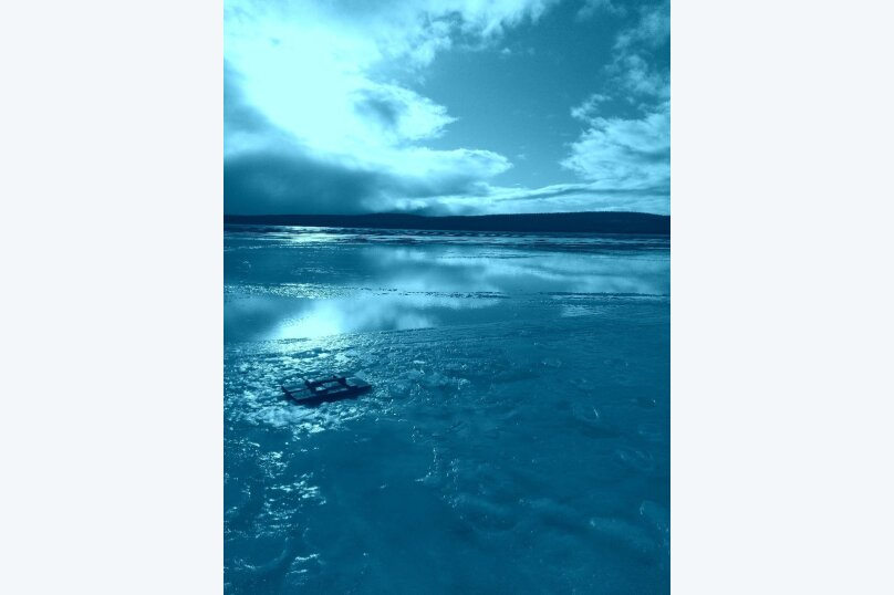 Дом на берегу озера Маслозеро, 100 кв.м. на 8 человек, 2 спальни, д. Маслозеро, Озёрная улица, 10А, Медвежьегорск - Фотография 2