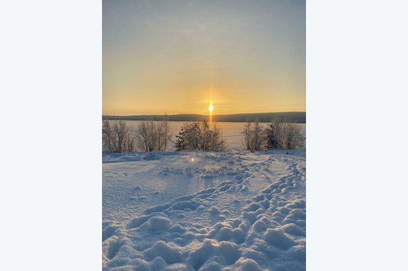 Дом на берегу озера Маслозеро, 100 кв.м. на 8 человек, 2 спальни, д. Маслозеро, Озёрная улица, 10А, Медвежьегорск - Фотография 5