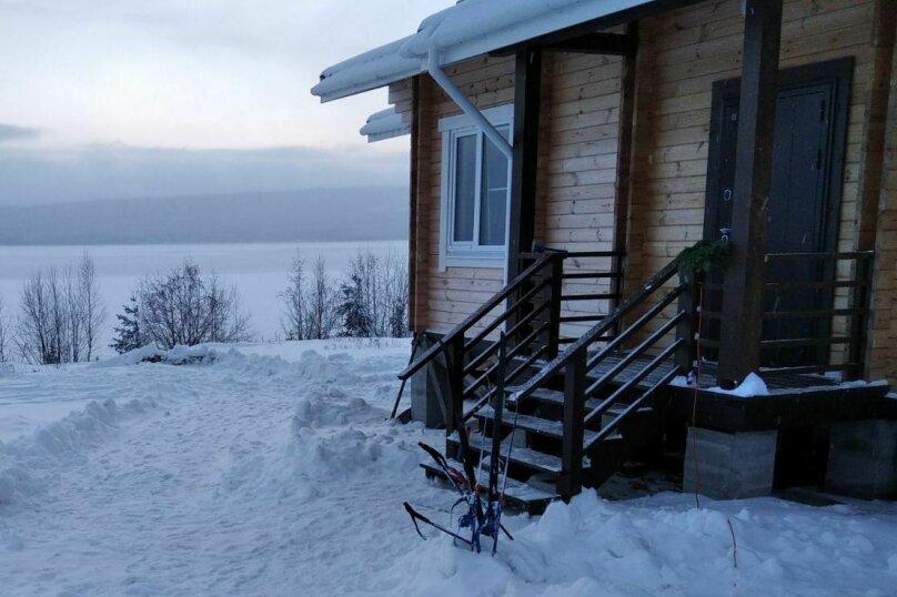 Дом на берегу озера Маслозеро, 100 кв.м. на 8 человек, 2 спальни, д. Маслозеро, Озёрная улица, 10А, Медвежьегорск - Фотография 8