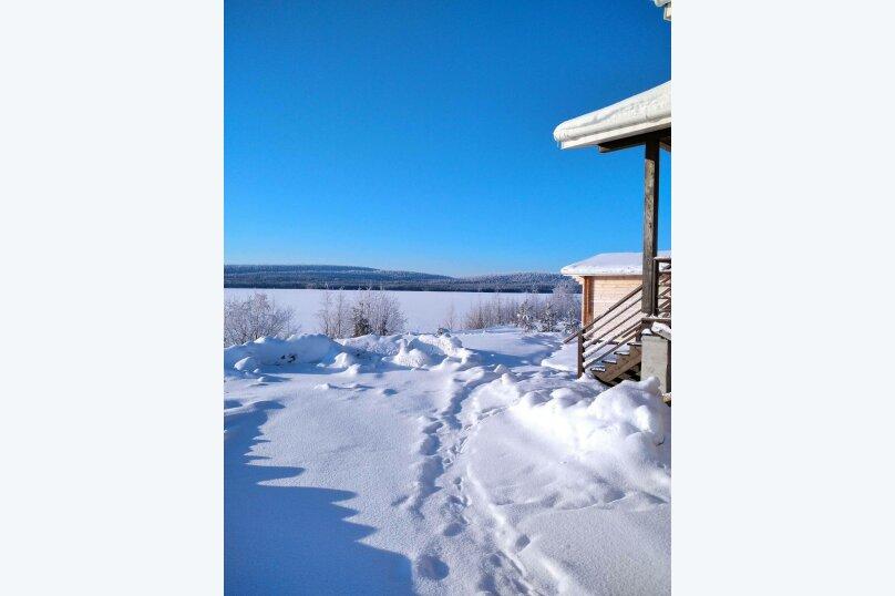 Дом на берегу озера Маслозеро, 100 кв.м. на 8 человек, 2 спальни, д. Маслозеро, Озёрная улица, 10А, Медвежьегорск - Фотография 11
