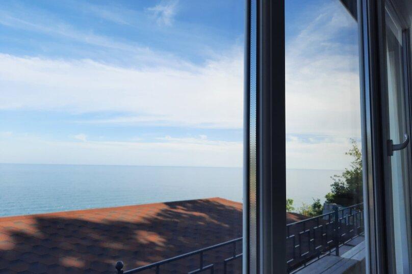 Домик на море №3, 53 кв.м. на 6 человек, 2 спальни, Прибрежная улица 19 км Судакского шоссе, 24а, Сатера - Фотография 9