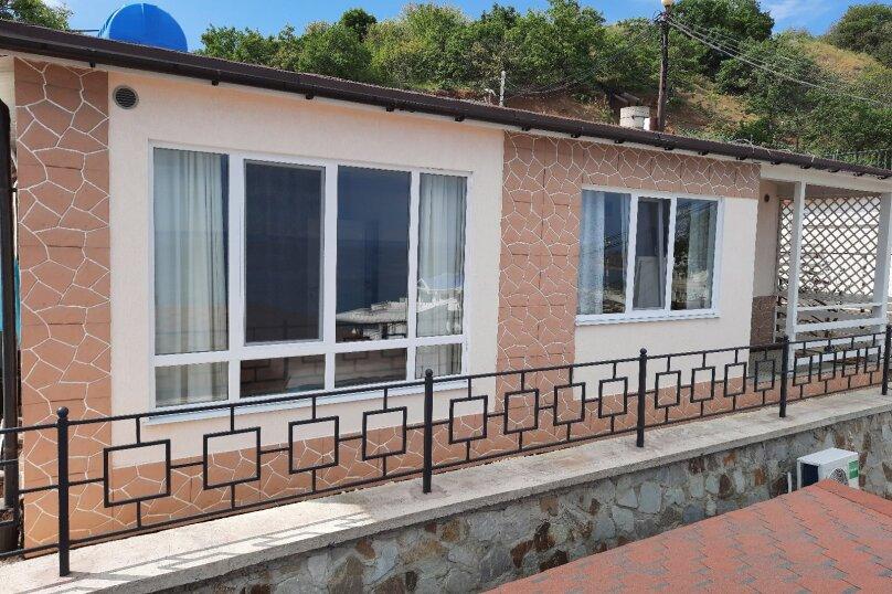 Домик на море №3, 53 кв.м. на 6 человек, 2 спальни, Прибрежная улица 19 км Судакского шоссе, 24а, Сатера - Фотография 1