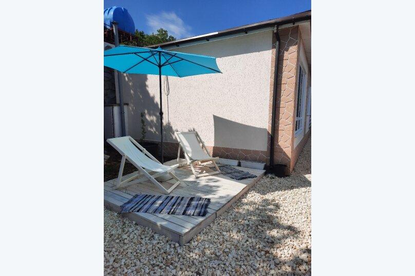 Домик на море №3, 53 кв.м. на 6 человек, 2 спальни, Прибрежная улица 19 км Судакского шоссе, 24а, Сатера - Фотография 19