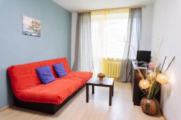 1-комн. квартира, 35 кв.м. на 2 человека, проспект Ленина, 37, Петрозаводск - Фотография 1