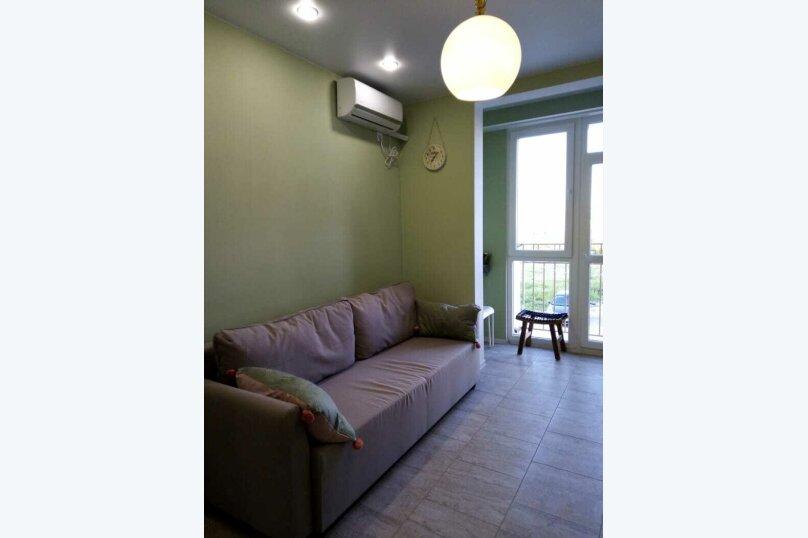 1-комн. квартира, 42 кв.м. на 3 человека, улица Челнокова, 17к1, Севастополь - Фотография 6