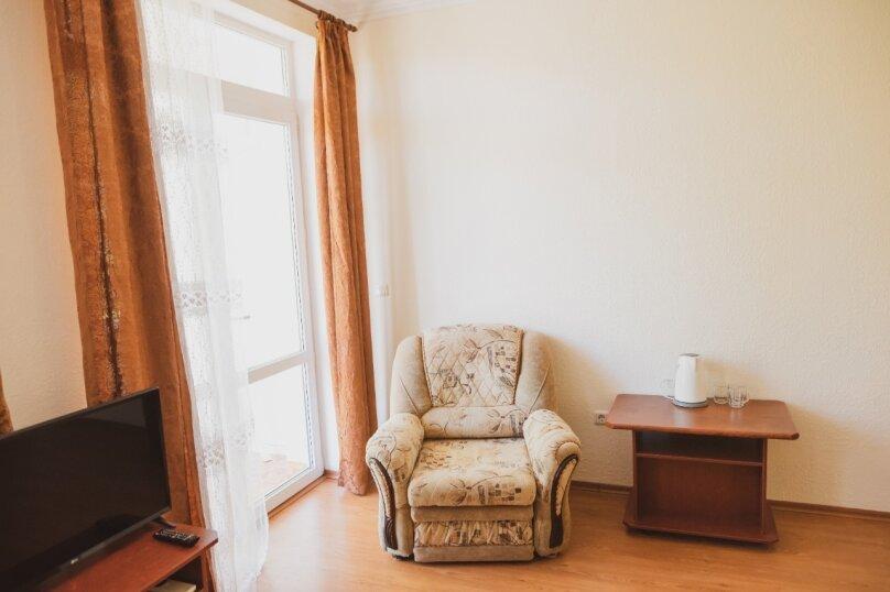 Двухкомнатный номер Люкс с балконом, улица Победы, 72/1, Лазаревское - Фотография 16
