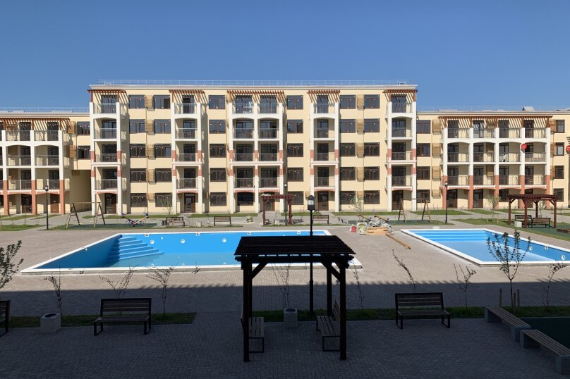 1-комн. квартира, 34 кв.м. на 4 человека, Мирная улица, 11к1, село Сукко - Фотография 36