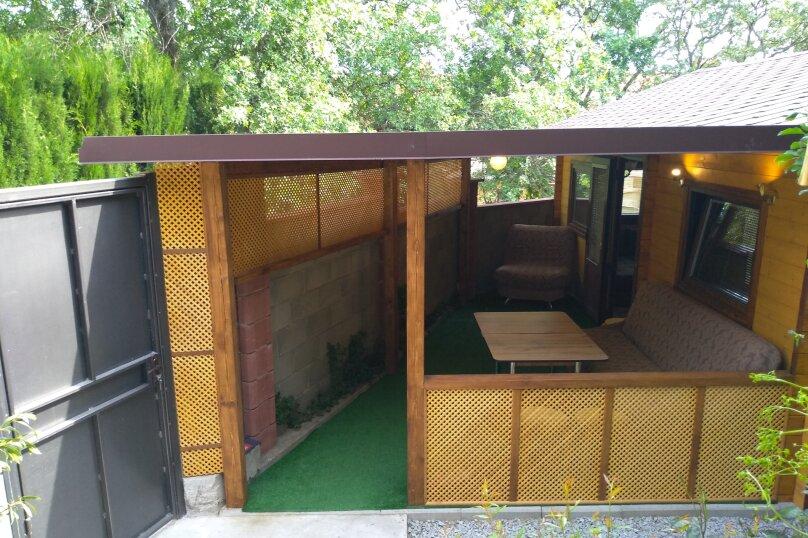 Деревянный домик, 30 кв.м. на 3 человека, 1 спальня, Янтарная улица, 24, Отрадное, Ялта - Фотография 9