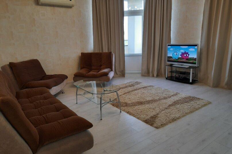 3-комн. квартира, 95 кв.м. на 5 человек, улица Толстого, 3, Новороссийск - Фотография 3