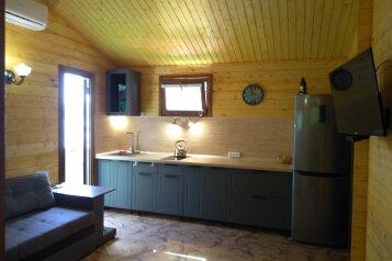 Деревянный домик, 30 кв.м. на 3 человека, 1 спальня, Янтарная улица, 24, Отрадное, Ялта - Фотография 1