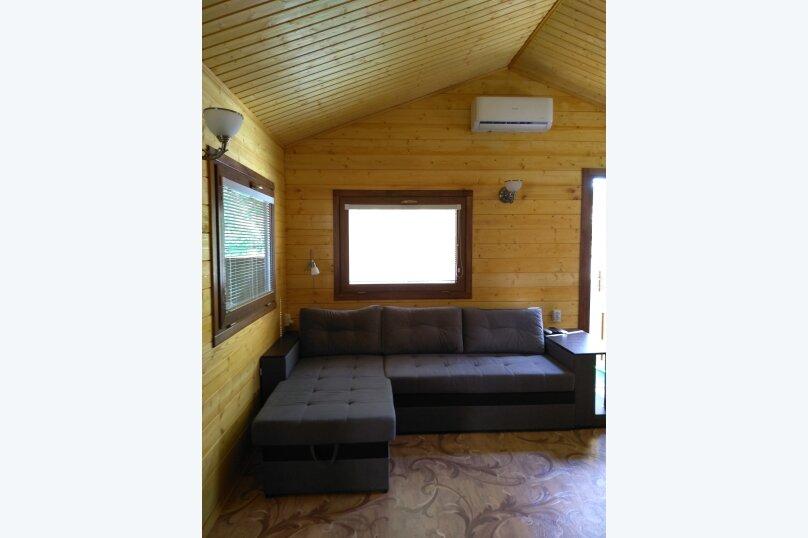 Деревянный домик, 30 кв.м. на 3 человека, 1 спальня, Янтарная улица, 24, Отрадное, Ялта - Фотография 11