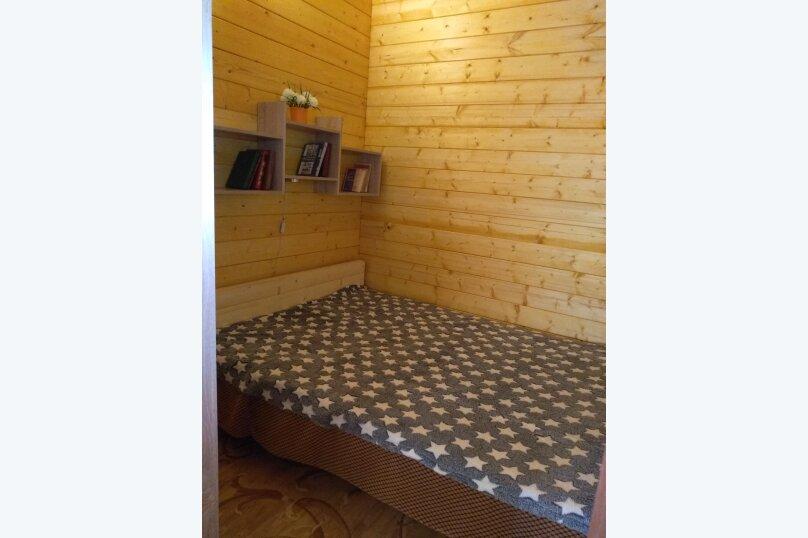 Деревянный домик, 30 кв.м. на 3 человека, 1 спальня, Янтарная улица, 24, Отрадное, Ялта - Фотография 12