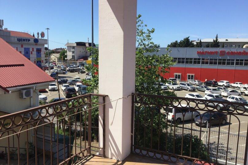 4-х местный номер с балконом, 3-й этаж, Изумрудная улица, 6, Лазаревское - Фотография 10