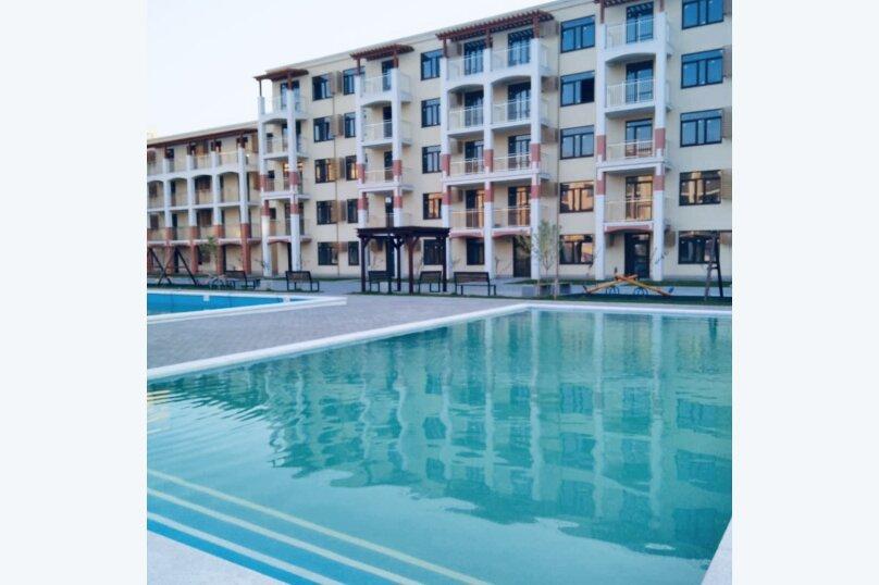 1-комн. квартира, 34 кв.м. на 4 человека, Мирная улица, 11к1, село Сукко - Фотография 1