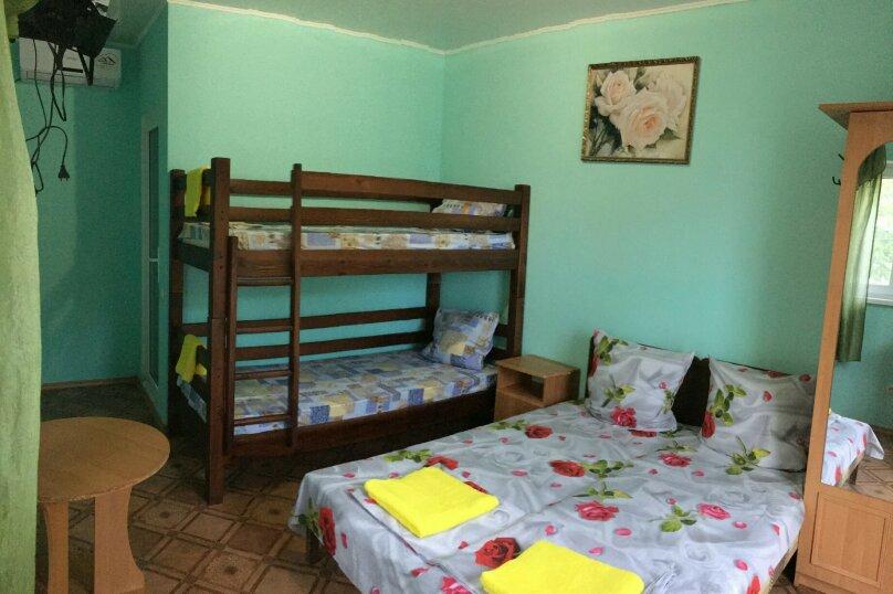 4-х местный номер с удобствами и кондиционером., Антонова, 12, Коктебель - Фотография 1