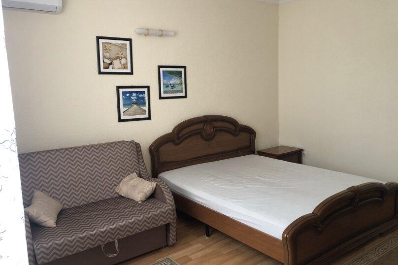1 комнатная квартира в частном доме с отдельным входом, 40 кв.м. на 3 человека, 1 спальня, Морпортовская улица, 10, Севастополь - Фотография 7