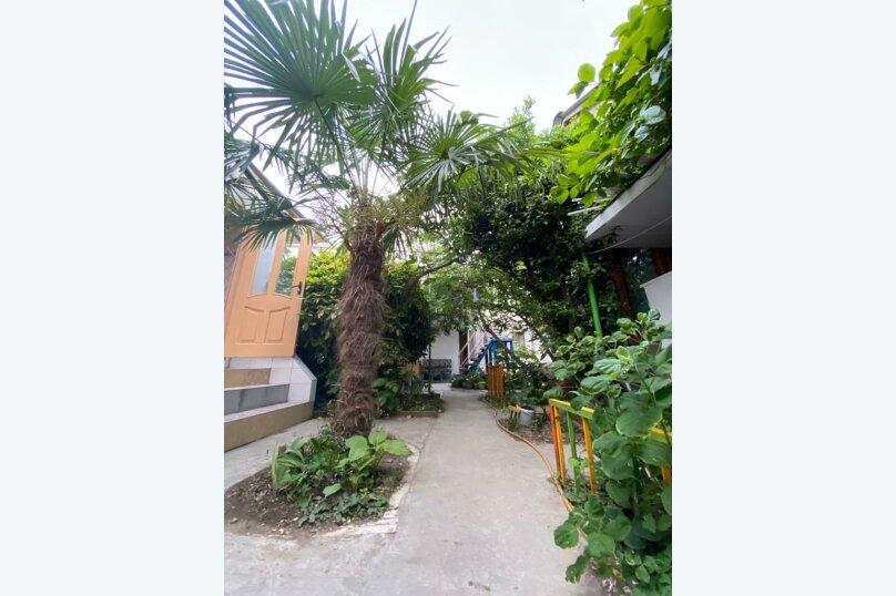 Трнхкомнатный номер, 40 кв.м. на 8 человек, 1 спальня, Береговая улица, 6, Алушта - Фотография 13