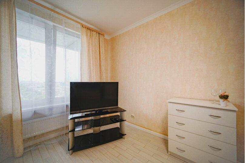 1-комн. квартира, 49 кв.м. на 4 человека, улица Александра Покрышкина, 25Ак1, Белый, Краснодарский край - Фотография 14