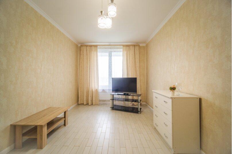 1-комн. квартира, 49 кв.м. на 4 человека, улица Александра Покрышкина, 25Ак1, Белый, Краснодарский край - Фотография 17