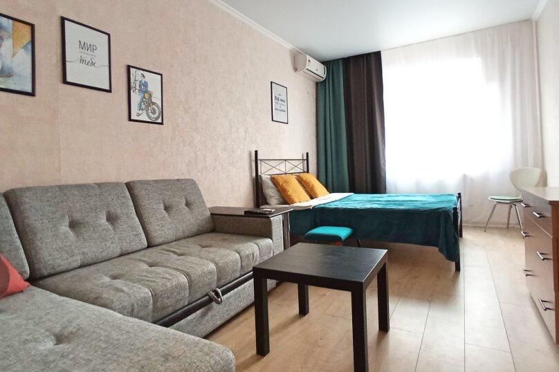 1-комн. квартира, 39 кв.м. на 4 человека, Восточно-Кругликовская улица, 30, Краснодар - Фотография 2