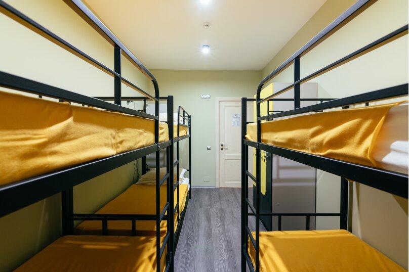 Кровать в 6-ти местном номере, 1-я Прядильная улица, 5, Москва - Фотография 1