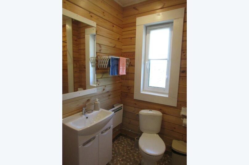 Дом на берегу озера Маслозеро, 100 кв.м. на 8 человек, 2 спальни, д. Маслозеро, Озёрная улица, 10А, Медвежьегорск - Фотография 17