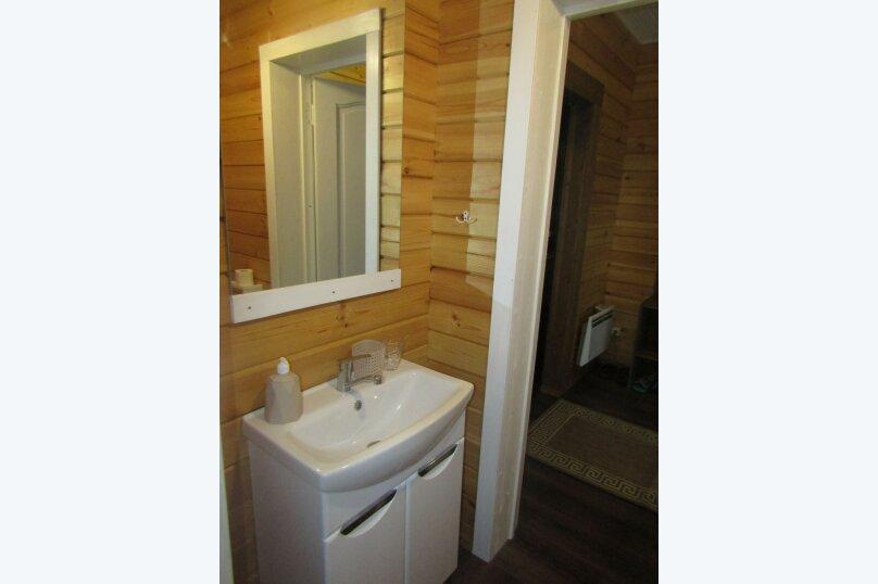 Дом на берегу озера Маслозеро, 100 кв.м. на 8 человек, 2 спальни, д. Маслозеро, Озёрная улица, 10А, Медвежьегорск - Фотография 29