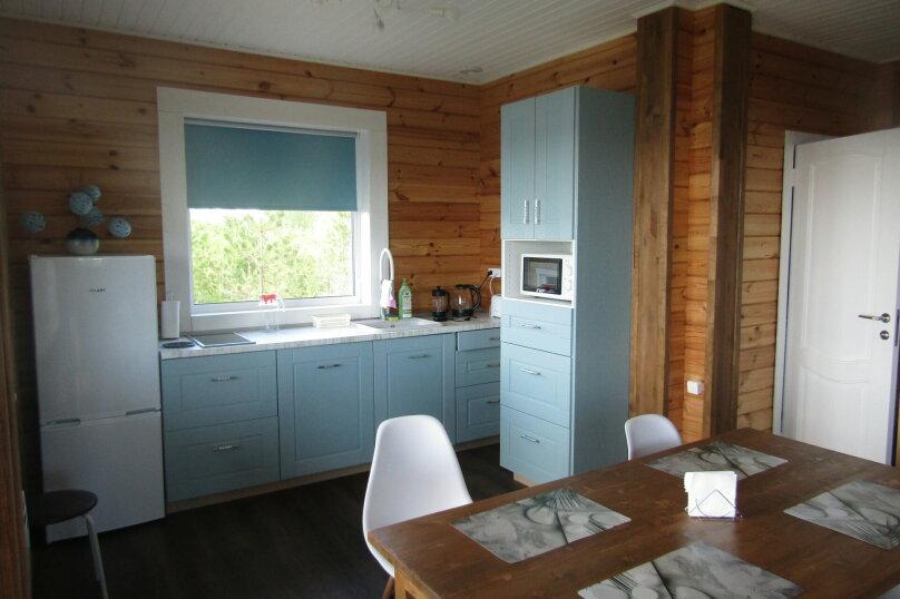 Дом на берегу озера Маслозеро, 100 кв.м. на 8 человек, 2 спальни, д. Маслозеро, Озёрная улица, 10А, Медвежьегорск - Фотография 32