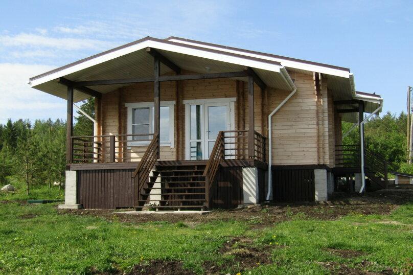 Дом на берегу озера Маслозеро, 100 кв.м. на 8 человек, 2 спальни, д. Маслозеро, Озёрная улица, 10А, Медвежьегорск - Фотография 36