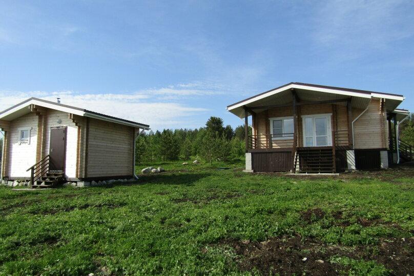 Дом на берегу озера Маслозеро, 100 кв.м. на 8 человек, 2 спальни, д. Маслозеро, Озёрная улица, 10А, Медвежьегорск - Фотография 37