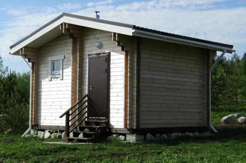 Дом на берегу озера Маслозеро, 100 кв.м. на 8 человек, 2 спальни, д. Маслозеро, Озёрная улица, 10А, Медвежьегорск - Фотография 38