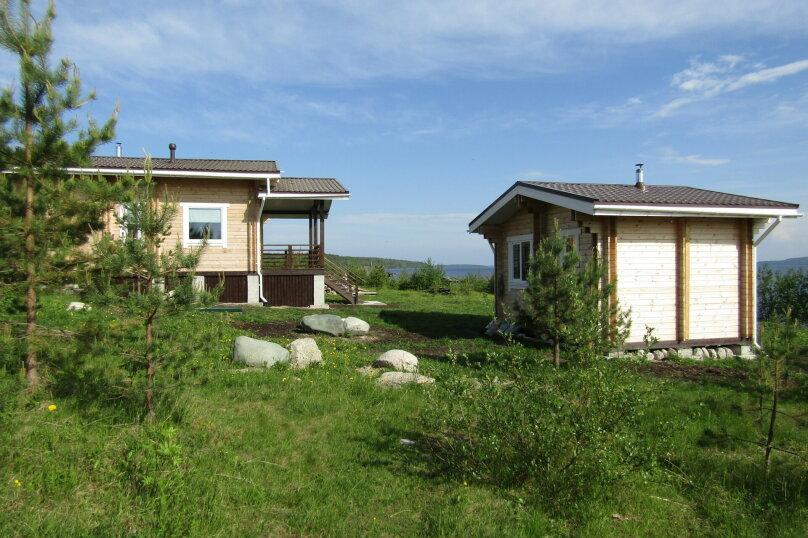 Дом на берегу озера Маслозеро, 100 кв.м. на 8 человек, 2 спальни, д. Маслозеро, Озёрная улица, 10А, Медвежьегорск - Фотография 40