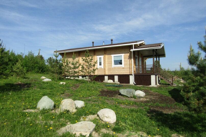 Дом на берегу озера Маслозеро, 100 кв.м. на 8 человек, 2 спальни, д. Маслозеро, Озёрная улица, 10А, Медвежьегорск - Фотография 41