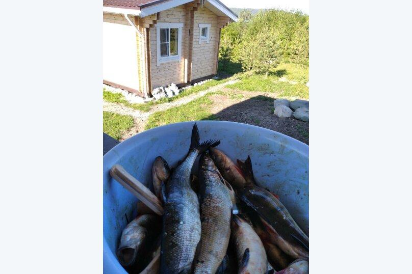 Дом на берегу озера Маслозеро, 100 кв.м. на 8 человек, 2 спальни, д. Маслозеро, Озёрная улица, 10А, Медвежьегорск - Фотография 47