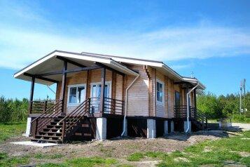 Дом на берегу озера Маслозеро, 100 кв.м. на 8 человек, 2 спальни, д. Маслозеро, Озёрная улица, 10А, Медвежьегорск - Фотография 1