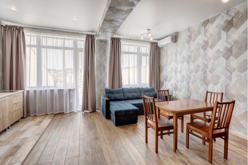 2-комн. квартира, 48 кв.м. на 4 человека, улица Адмирала Фадеева, 18, Севастополь - Фотография 2