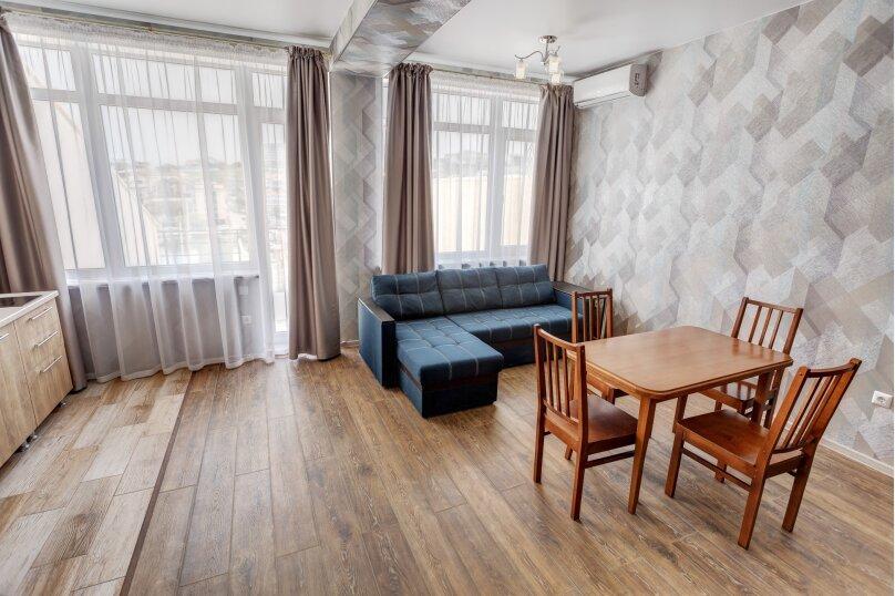 2-комн. квартира, 48 кв.м. на 4 человека, улица Адмирала Фадеева, 18, Севастополь - Фотография 4