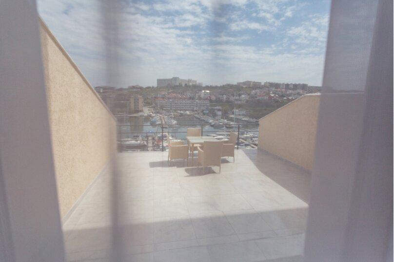 2-комн. квартира, 48 кв.м. на 4 человека, улица Адмирала Фадеева, 18, Севастополь - Фотография 20