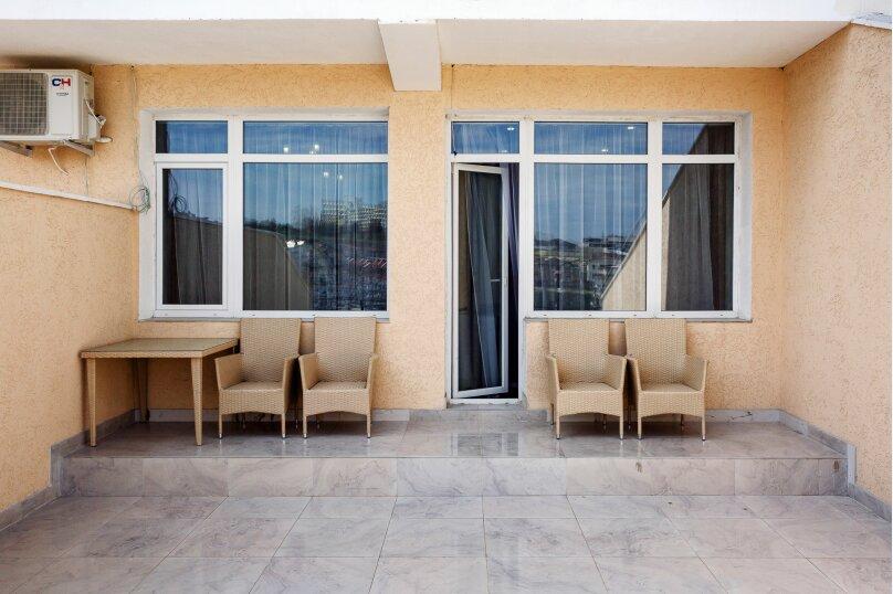 2-комн. квартира, 48 кв.м. на 4 человека, улица Адмирала Фадеева, 18, Севастополь - Фотография 28