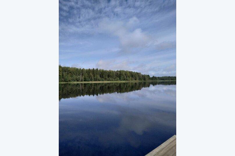 Дом в лесу ( 4 шт.) на берегу озера , деревня Стеклино, 36 на 4 номера - Фотография 3