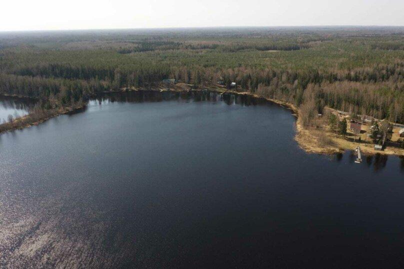Дом в лесу ( 4 шт.) на берегу озера , деревня Стеклино, 36 на 4 номера - Фотография 5