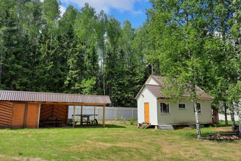 Дом в лесу ( 4 шт.) на берегу озера , деревня Стеклино, 36 на 4 номера - Фотография 37