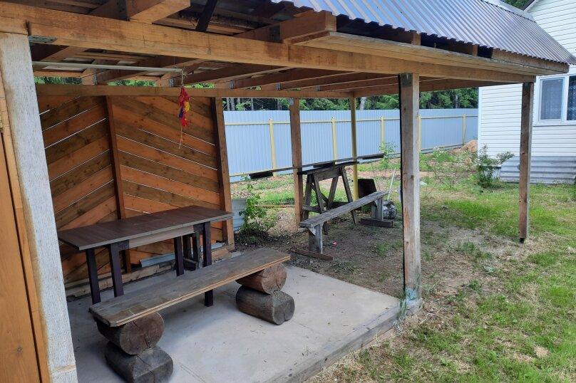 Дом в лесу ( 4 шт.) на берегу озера , деревня Стеклино, 36 на 4 номера - Фотография 39