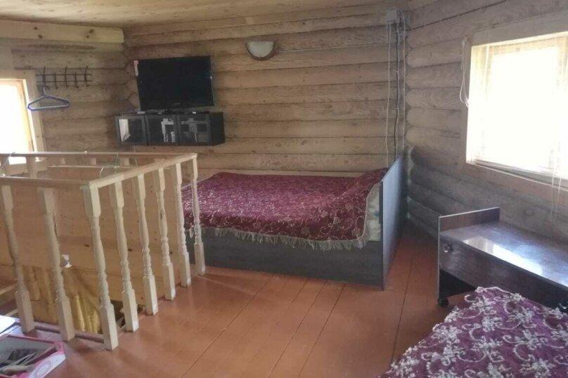 Дом в лесу ( 4 шт.) на берегу озера , деревня Стеклино, 36 на 4 номера - Фотография 17