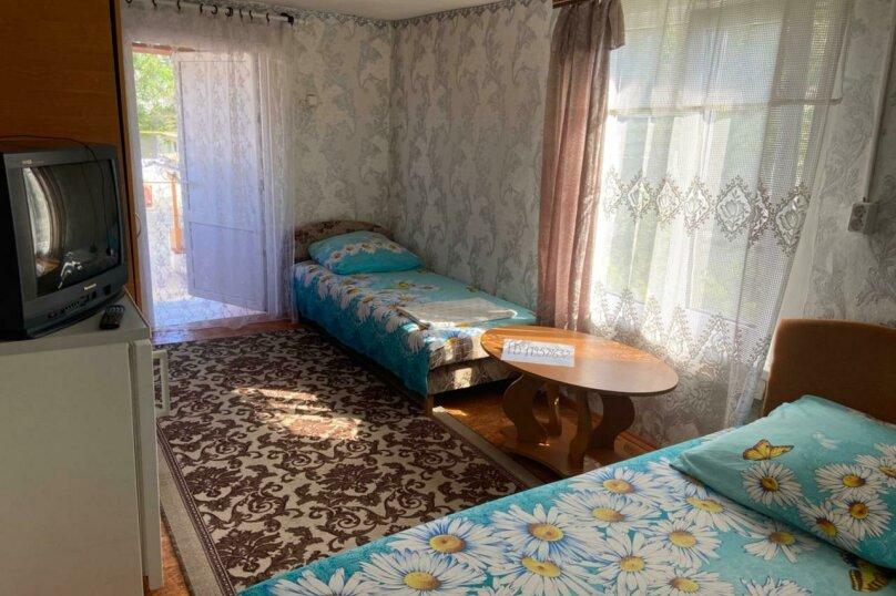 Трёхместный с кондиционером , Приморская, 39, Береговое, Феодосия - Фотография 13