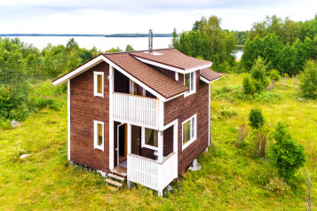 Дом, 70 кв.м. на 6 человек, 2 спальни, деревня Сяргозеро, 1, Медвежьегорск - Фотография 1