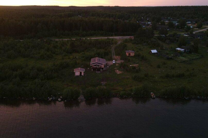 Дом на берегу озера Маслозеро, 100 кв.м. на 8 человек, 2 спальни, д. Маслозеро, Озёрная улица, 10А, Медвежьегорск - Фотография 49