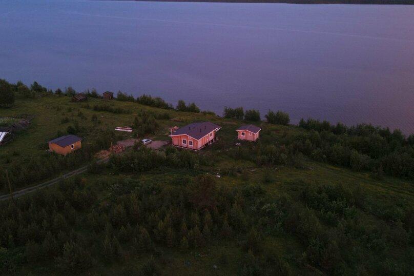 Дом на берегу озера Маслозеро, 100 кв.м. на 8 человек, 2 спальни, д. Маслозеро, Озёрная улица, 10А, Медвежьегорск - Фотография 51